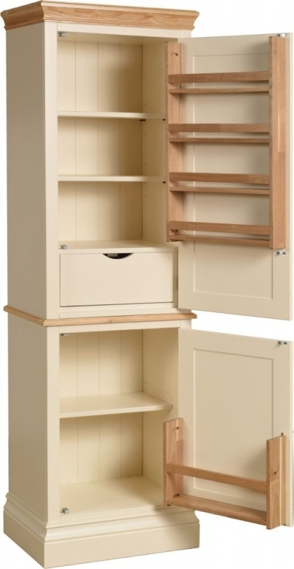 Devonshire Lundy Single Larder - Ivory Painted