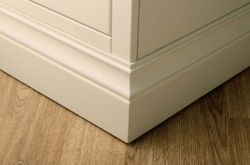 Devonshire Lundy Ivory Painted Double Larder
