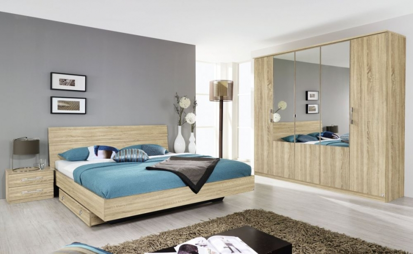 Buy rauch arles wardrobe online cfs uk for Chambre a coucher adulte contemporaine