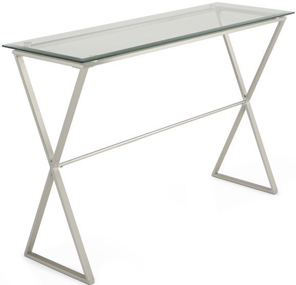 Serene Kiana Glass Console Table