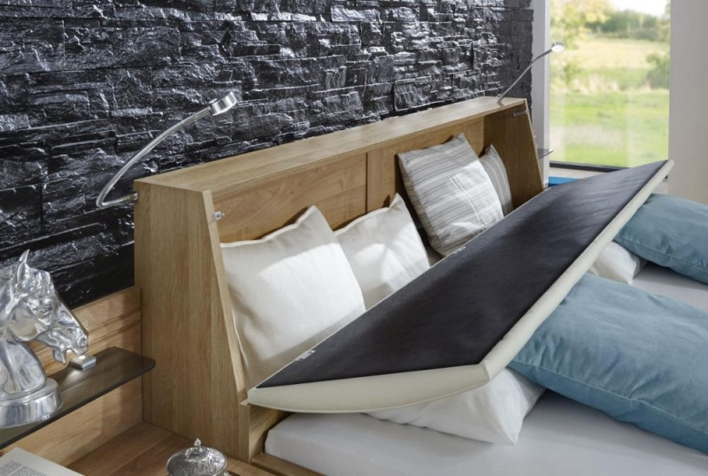 Wiemann Serena Futon Bed with Sahara Cushion Headboard