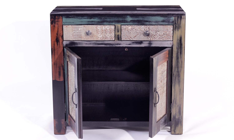 URBAN Vintage Shabby Chic 2 Door 2 Drawer Sideboard