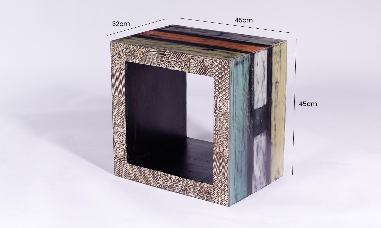 URBAN Vintage Shabby Chic 1 Hole Cube