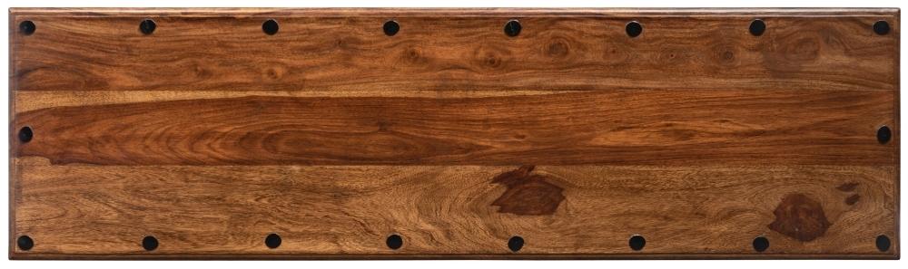 Wood Jali Sheesham Dining Bench