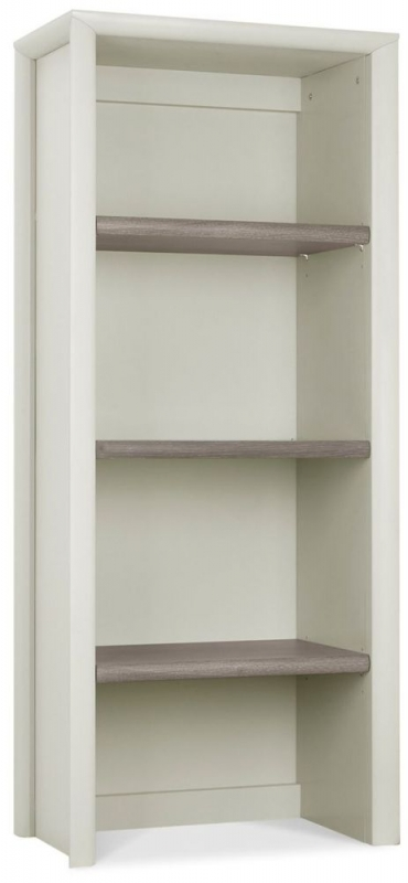 Bentley Designs Bergen Grey Washed Oak and Soft Grey Narrow Dresser Top Unit