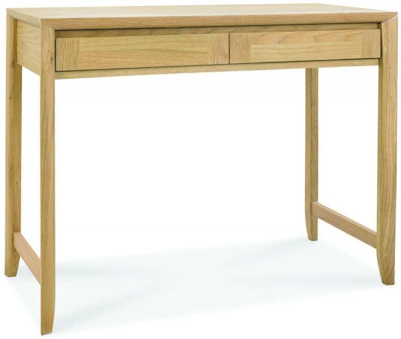 Bentley Designs Bergen Oak 2 Drawer Desk