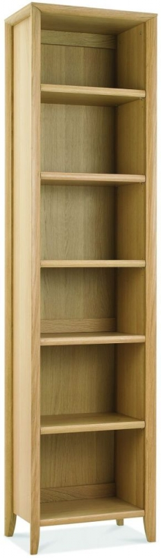 Bentley Designs Bergen Oak Narrow Bookcase