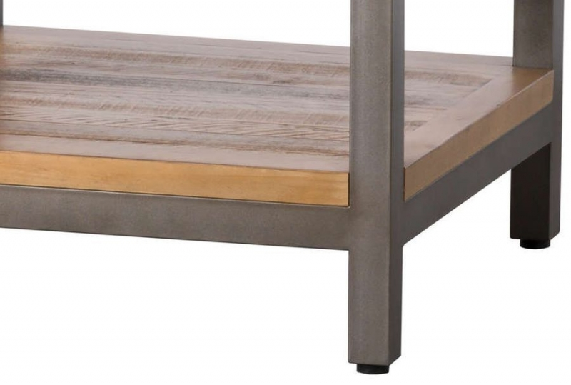 Hill Interiors Draftsman Solid Pine Lamp Table
