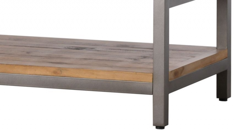 Hill Interiors Draftsman Solid Pine Coffee Table