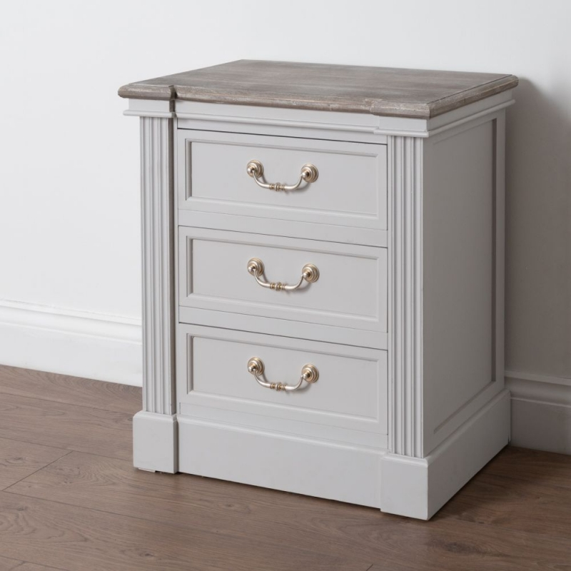 Hill Interiors Liberty White Painted Bedside Cabinet