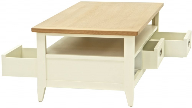 Willis and Gambier Penrose Off White Painted Coffee Table + Nest of Tables