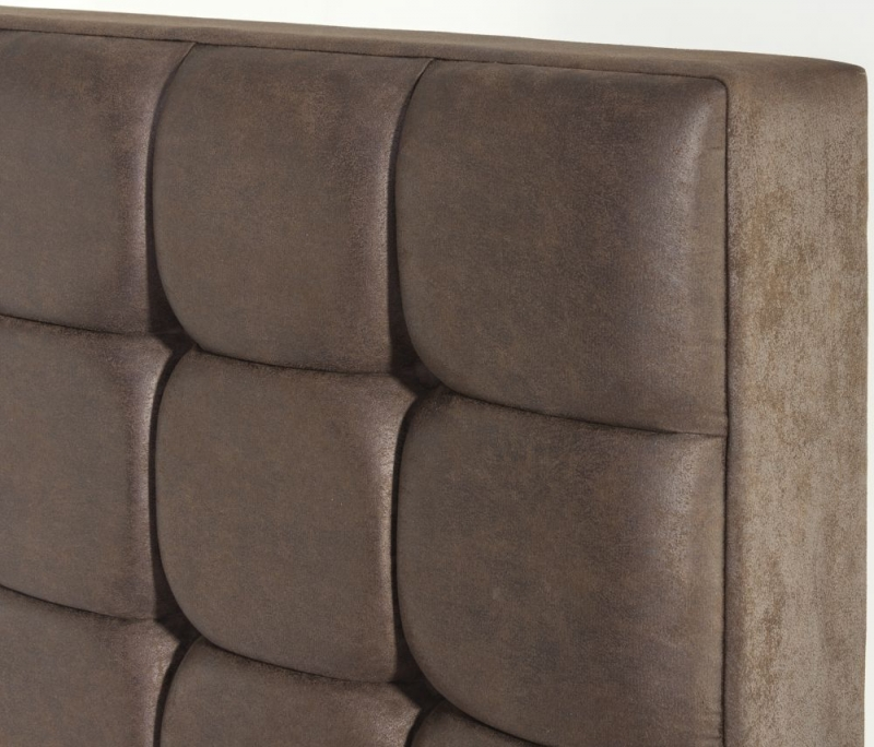 Somerset Floor Standing Fabric Headboard