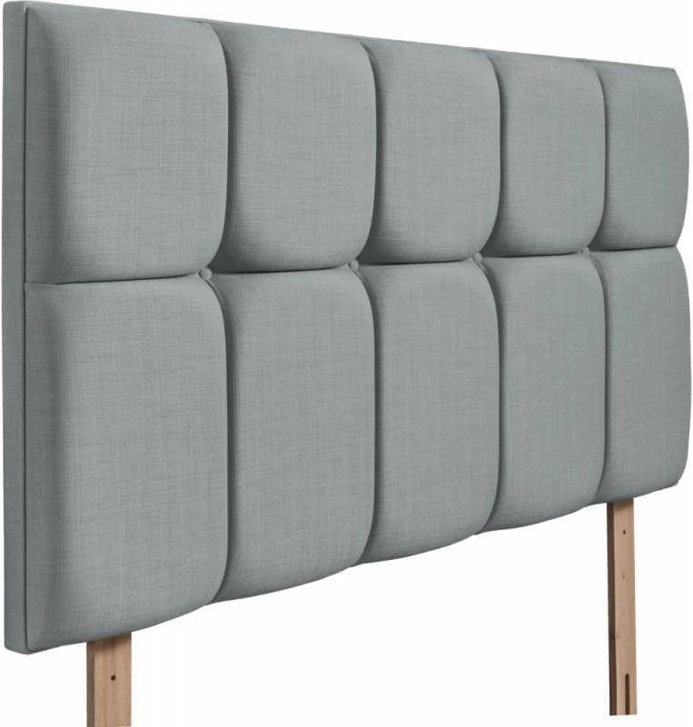 Milan Sky Fabric Headboard