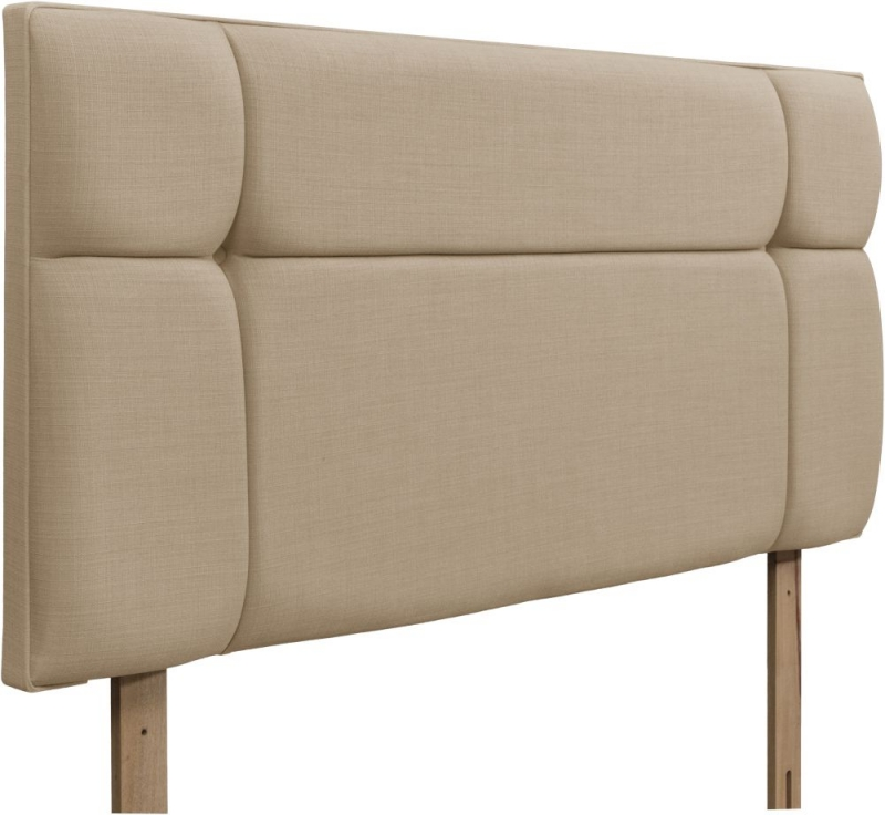 Pavia Beige Fabric Headboard