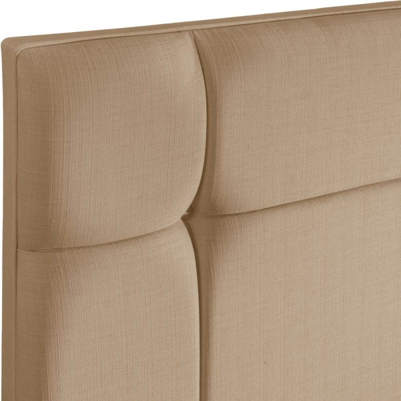 Pavia Oatmeal Fabric Headboard