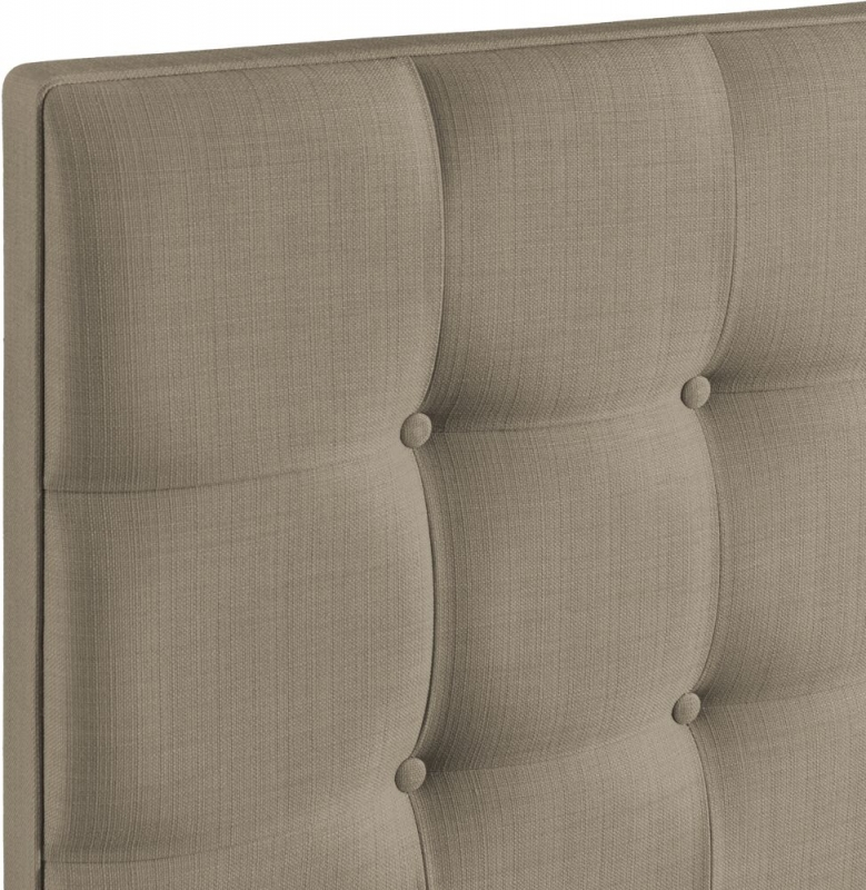 Ravello Fudge Fabric Headboard