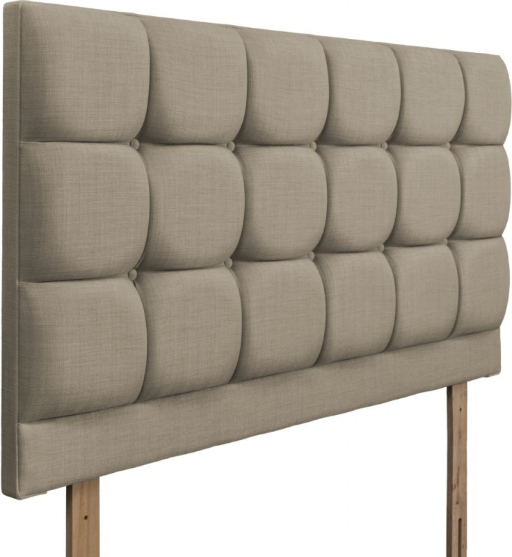 Roma Fudge Fabric Headboard