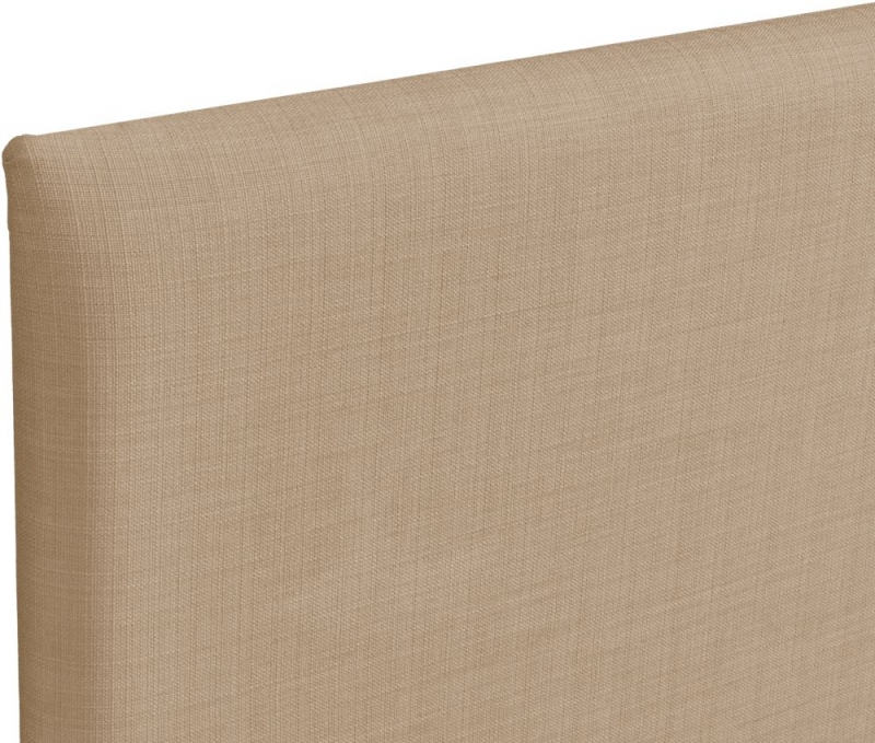 Taurus Oatmeal Fabric Headboard