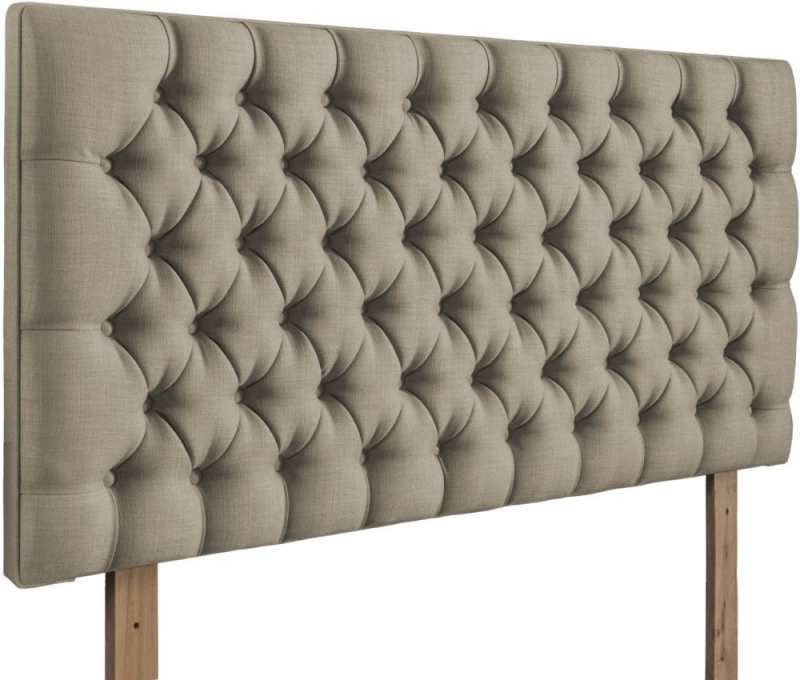 Tiffany Fudge Fabric Headboard