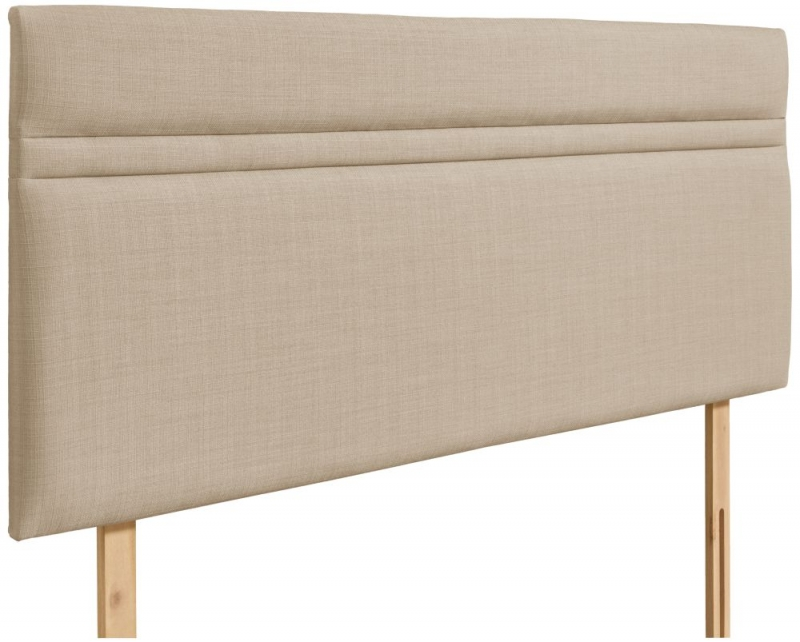 Nile Beige Fabric Headboard