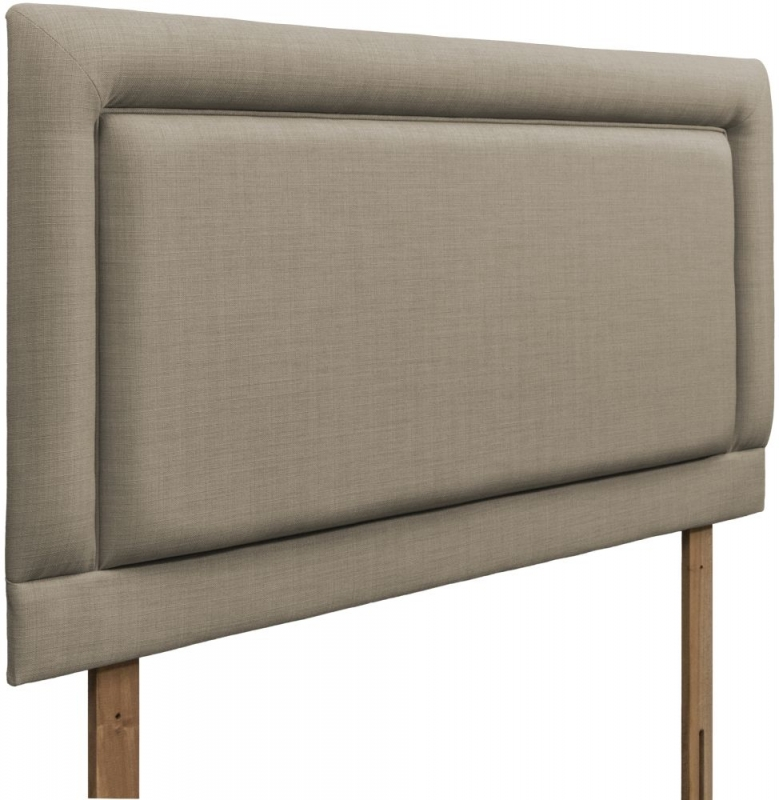 Rimini Fudge Fabric Headboard