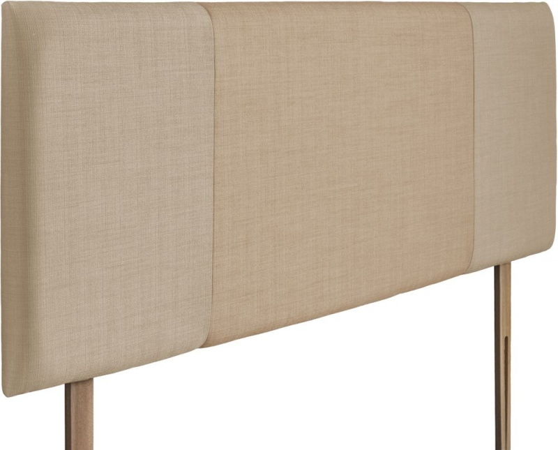 Seville Beige and Oatmeal Fabric Headboard