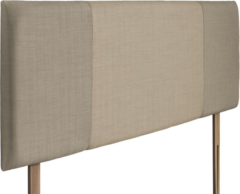 Seville Fudge and Sand Fabric Headboard