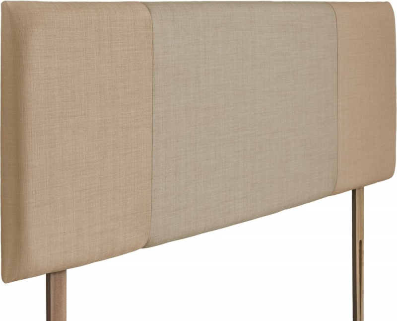 Seville Oatmeal and Sand Fabric Headboard