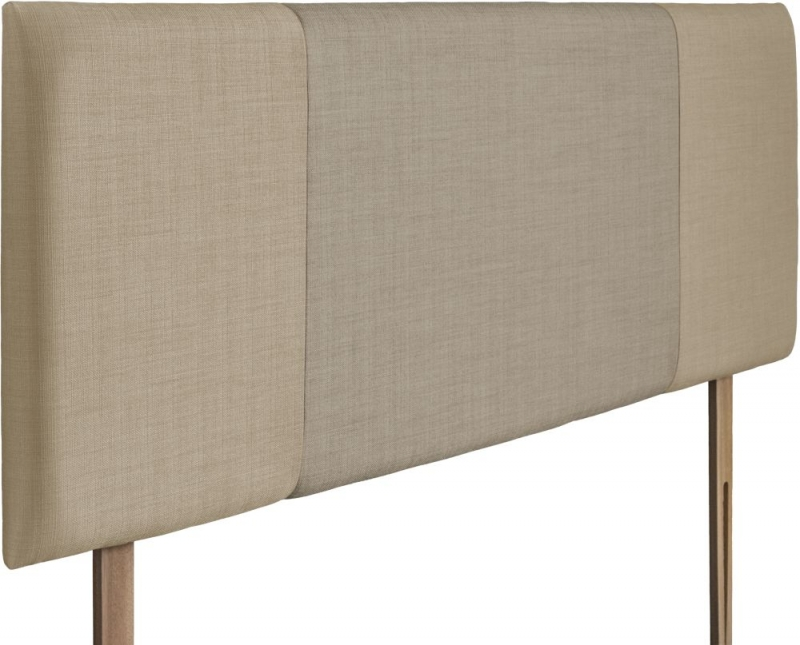 Seville Sand and Fudge Fabric Headboard