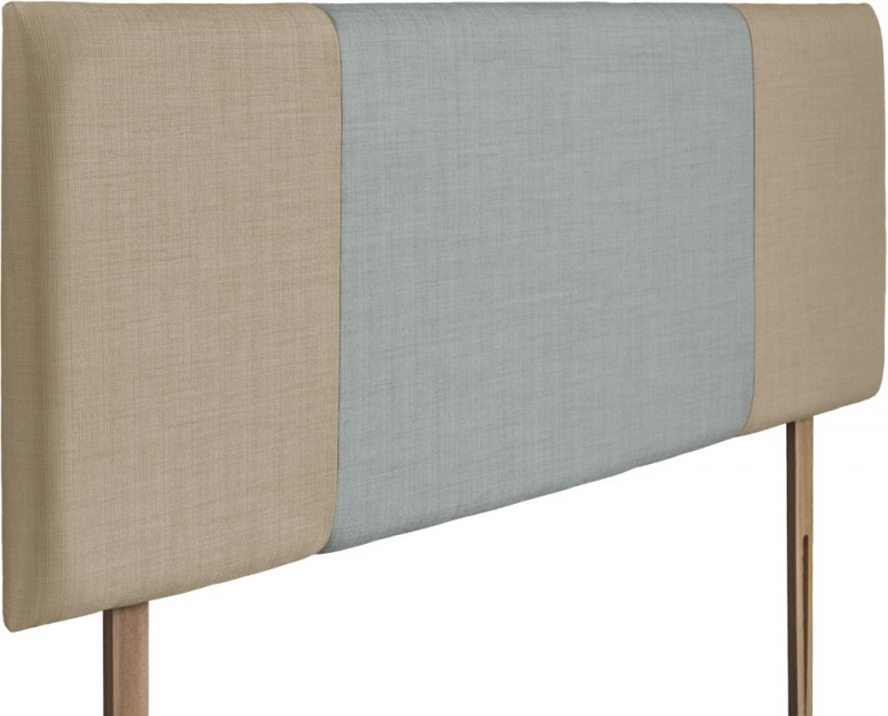 Seville Sand and Sky Fabric Headboard