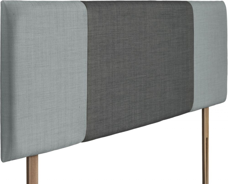 Seville Sky and Granite Fabric Headboard