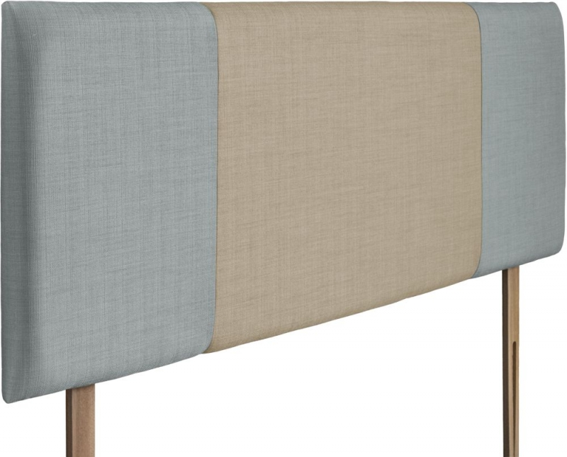 Seville Sky and Sand Fabric Headboard