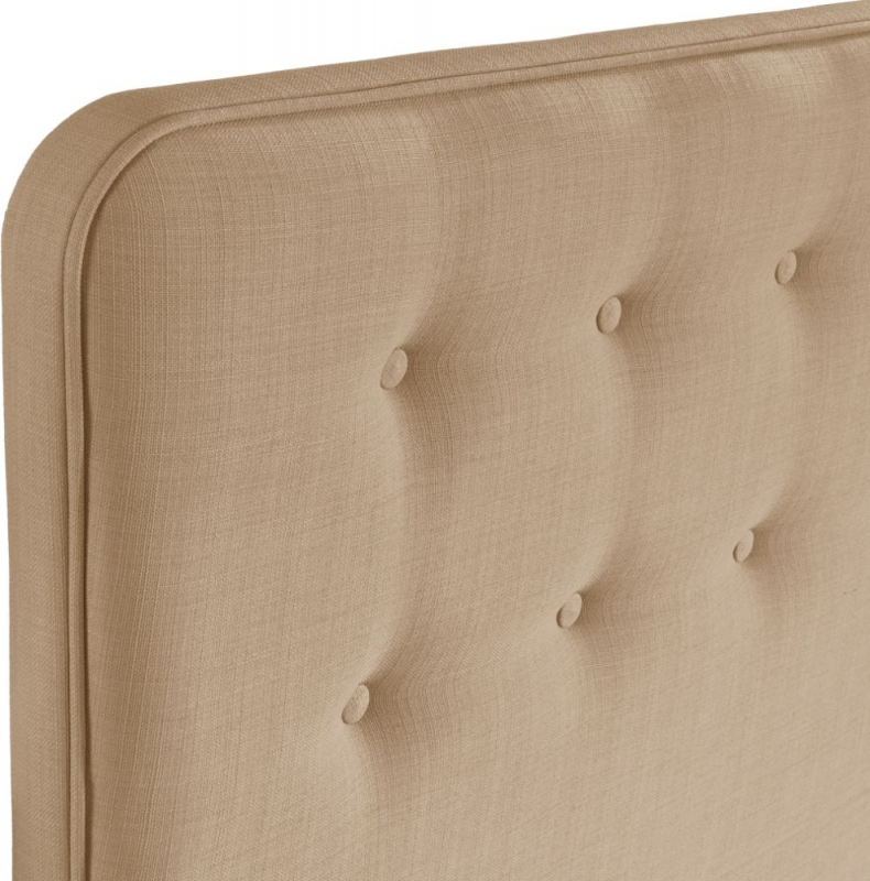 Manhattan Oatmeal Floorstanding Fabric Headboard