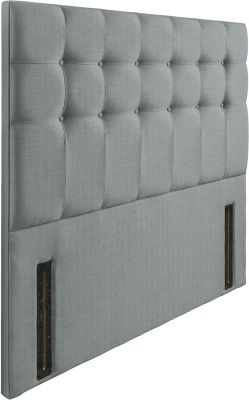 Ravello Sky Floorstanding Fabric Headboard