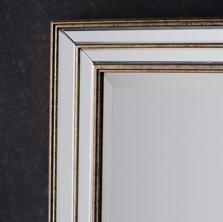 Gallery Direct Squire Rectangular Mirror - 75.5cm x 106cm