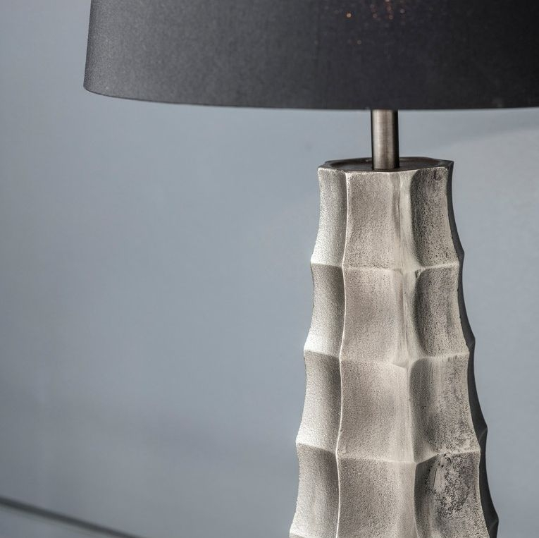 Gallery Direct Hadlock Antique Nickel Table Lamp