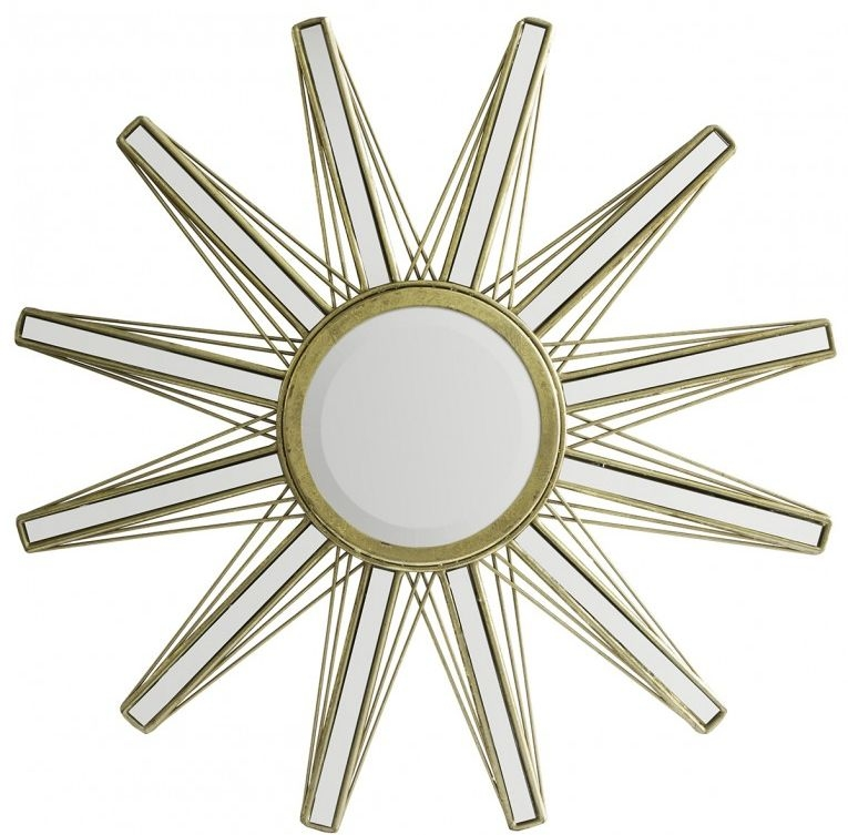 Gallery Direct Flaire Round Mirror