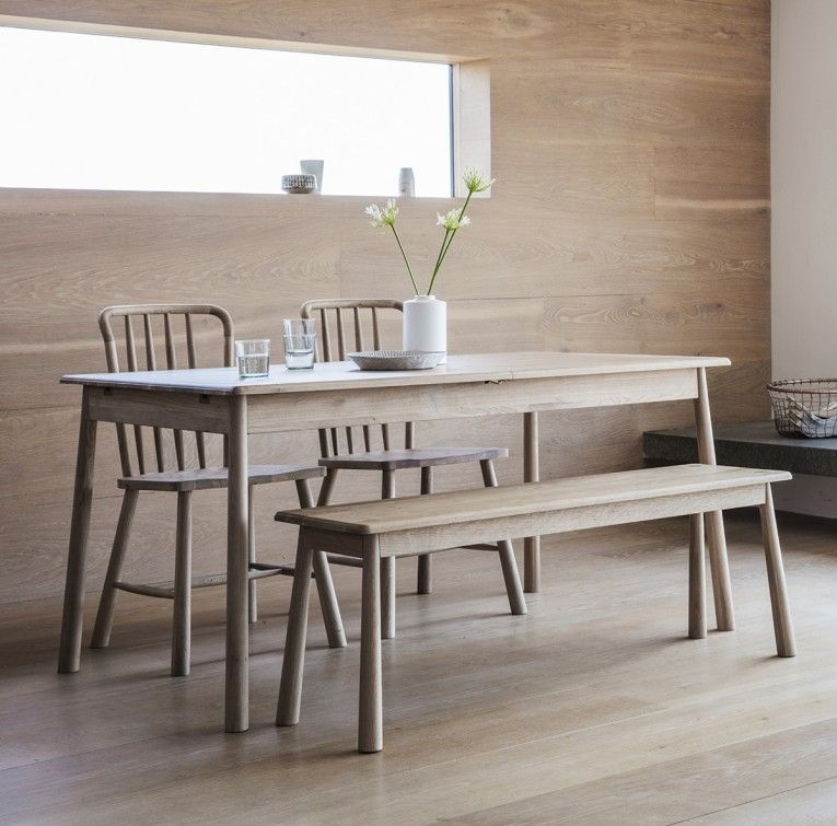 Gallery Direct Wycombe Oak Extending Dining Table