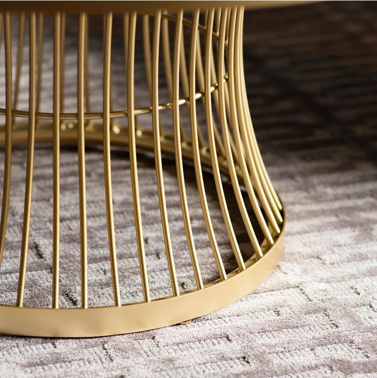 Gallery Direct Pickford Champagne Coffee Table