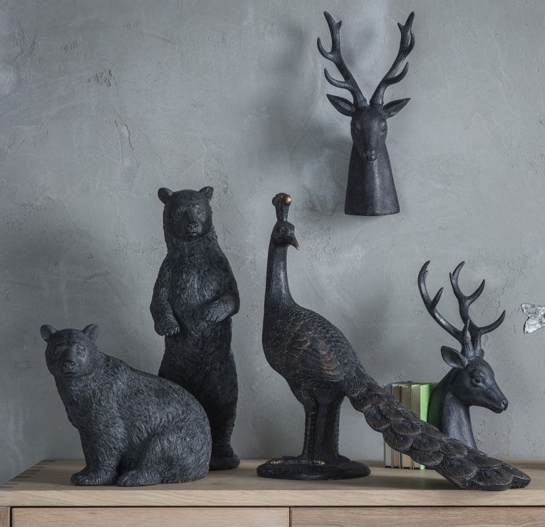 Gallery Direct Knowle Stag (Set of 2)