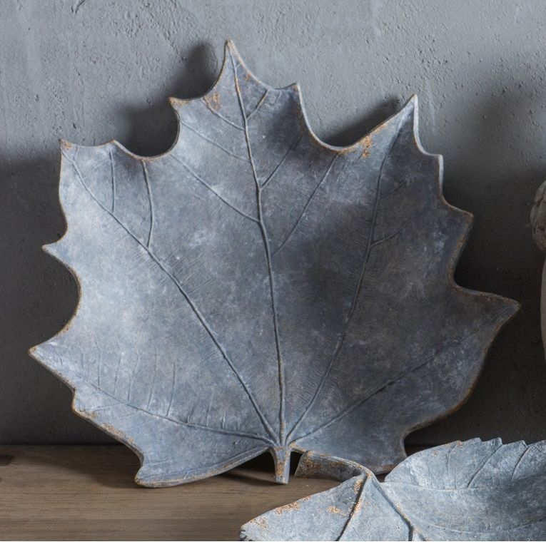 Gallery Direct Maple Weathered Leaf - Grey
