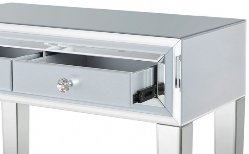 Montague Grey Mirrored Console Table