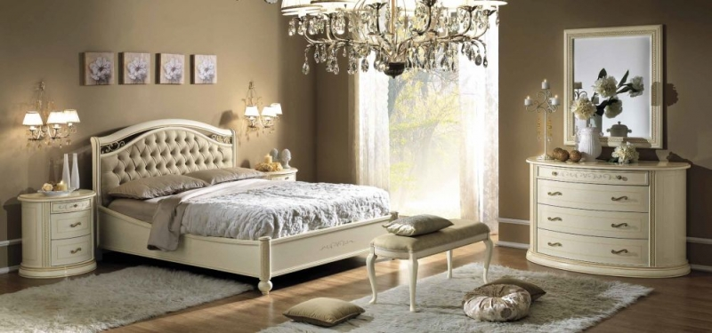 Camel Siena Night Ivory Italian Ecoleather Bench