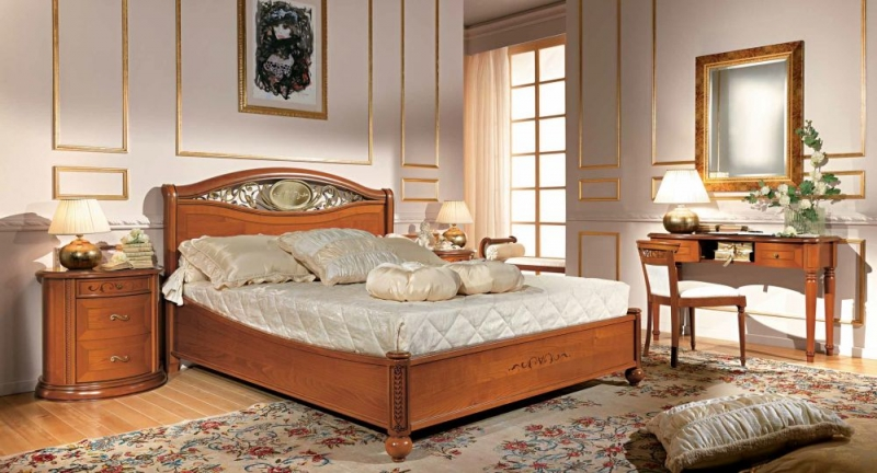 317ac862670f Camel Siena Night Ferro Cherry Italian 5ft King Size Storage Bed with  Footboard