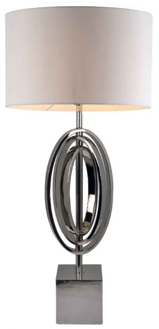 RV Astley Seraphina Nickel Table Lamp