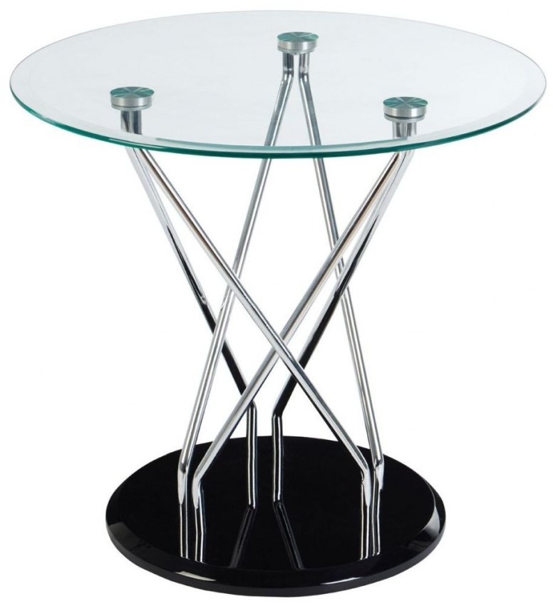 Halo Black Side Table