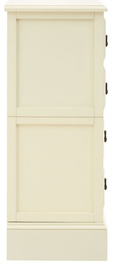 Monarch Ivory 4 Drawer Chest