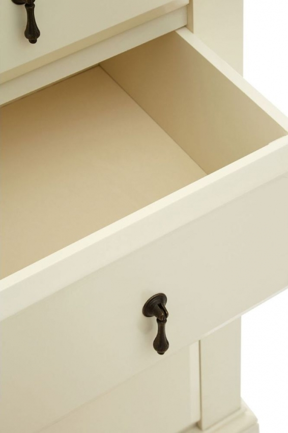 Florence Ivory 4 Drawer Chest