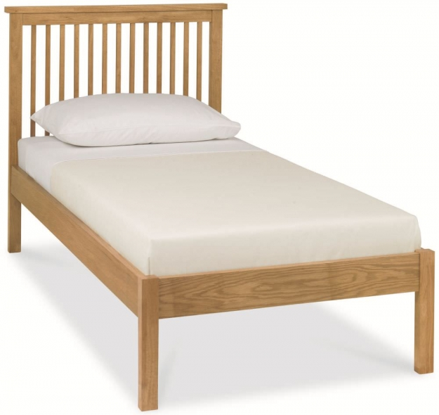 Bentley Designs Atlanta Oak Bedstead - Low Foot End