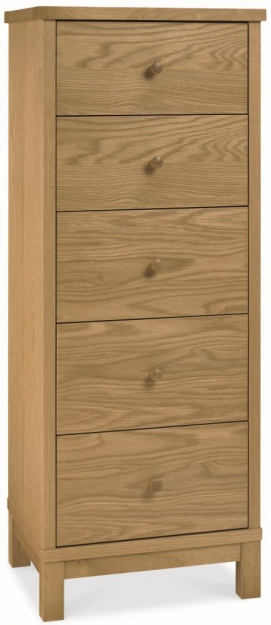 Bentley Designs Atlanta Oak Bedroom Set with High Foot End Bed